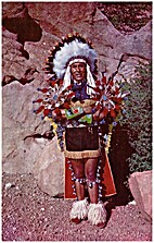 North American Indian Chief ….