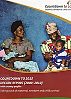 Countdown to 2015: Decade Report (2000-2010)…