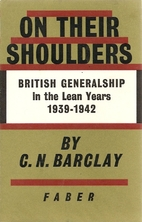 On Their Shoulders: British Generalship in…