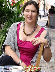 Author photo. London Evening Standard