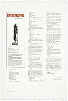 Catastrophe [play] by Samuel Beckett