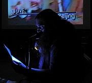 Author photo. Thomas Zummer at Light Industry, New York, 2009