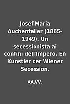 Josef Maria Auchentaller (1865-1949). Un…