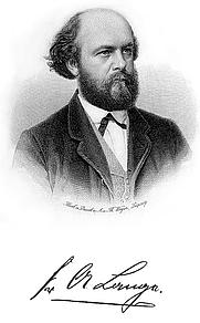 Author photo. Friedrich Albert Lange