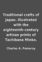 Traditional crafts of Japan. Illustrated…