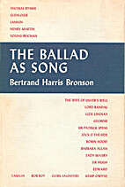 The ballad as song by Bertrand Harris…