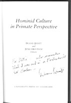 Hominid Culture in Primate Perspective by…