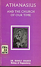 Athanasius and the Church of our time: On…