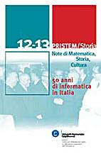 50 anni di informatica in Italia by aa.vv.