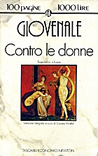 Contro le donne by Juvenal