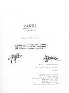 Yank (Musical Script) by Joseph Zellnik