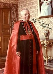 Author photo. Amleto Cardinal Cicognani