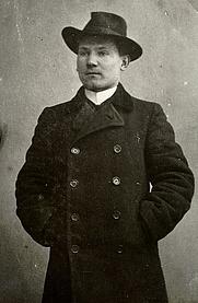 Author photo. Oskar Luts 1906