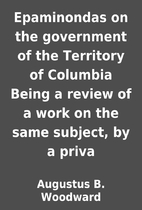 Epaminondas on the government of the…