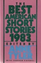 The Best American Short Stories 1983 by Anne…