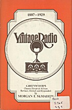 Vintage radio; Harold Greenwood's historical…
