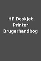 HP DeskJet Printer Brugerhåndbog