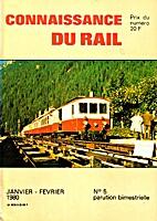 Connaissance du Rail 5 by Pierre Laederich -…