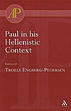 Paul in His Hellenistic Context by Troels…