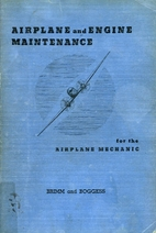 Airplane and Engine Maintenance for the…