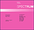 Music Theory Spectrum, Vol. 20.1 (1998) by…