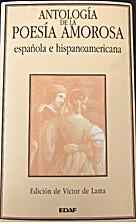 Antología de la Poesía amorosa by Lama