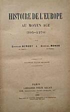 Histoire de l'Europe au Moyen Age…