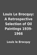 Louis Le Brocquy: A Retrospective Selection…