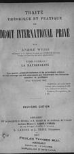 Traité theorique et pratique de droit…