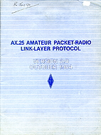 Ax 25 Amateur Packet Radio Link Layer…