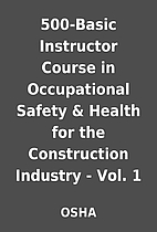 500-Basic Instructor Course in Occupational…