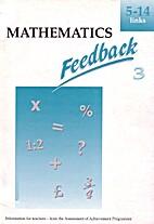 Mathematics Feedback 3: Information for…