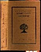 The Literary Manuscripts of Henry David…