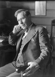 Author photo. Olav Duun (1936)<br>Photo: Anders Beer Wilse (1865-1949)