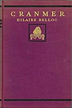 Cranmer by Hilaire Belloc
