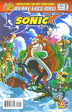 Sonic X #15 - Bad Eggnog by Joe Edkin