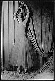 Author photo. Violette Verdy, in Serenade, photo by Carl Van Vechten, Dec. 4, 1961 (Library of Congress, Prints & Photographs Division, Carl Van Vechten Collection, Digital ID: van 5a52736)