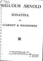Sonatina for clarinet & pianoforte by…