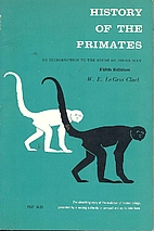 History of the Primates: An Introduction to…