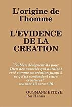 L'Évidence de la Création by Ousmane Ibn…