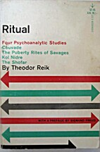 Ritual : psycho-analytic studies by Theodor…
