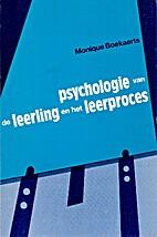 Psychologie van de leerling en het…