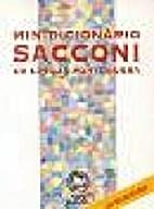 Minidicionário Sacconi da Língua…