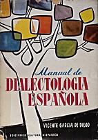 Manuel de dialectologia española by…