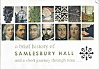 A Brief History of Samlesbury Hall and a…
