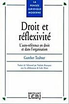 Droit et réflexivité: L'auto-référence…