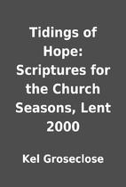 Tidings of Hope: Scriptures for the Church…