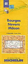 Bourges - Nevers - Mâcon 1:200 000 (n° 69)