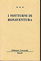 I notturni di Bonaventura by Friedrich…