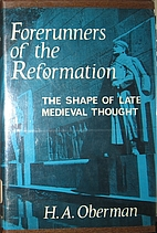 Forerunners of the Reformation: The shape of…